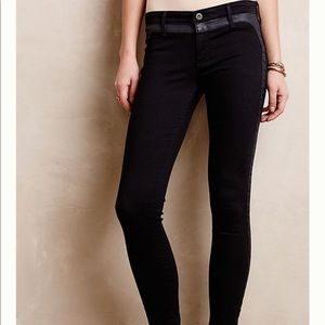 AG Adriano Goldschmief Coated Tux Stripe Jeans